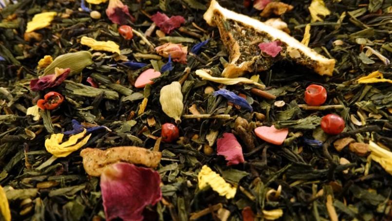 thé noir et vert aromatisé ma bohème premium tea & cie boutique de thé en ligne