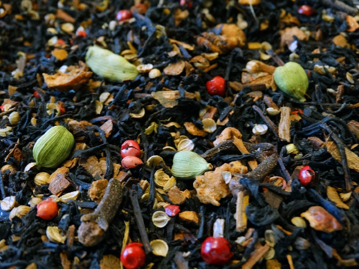 Madras Club thé noir aromatisé premium par tea & Cie épices