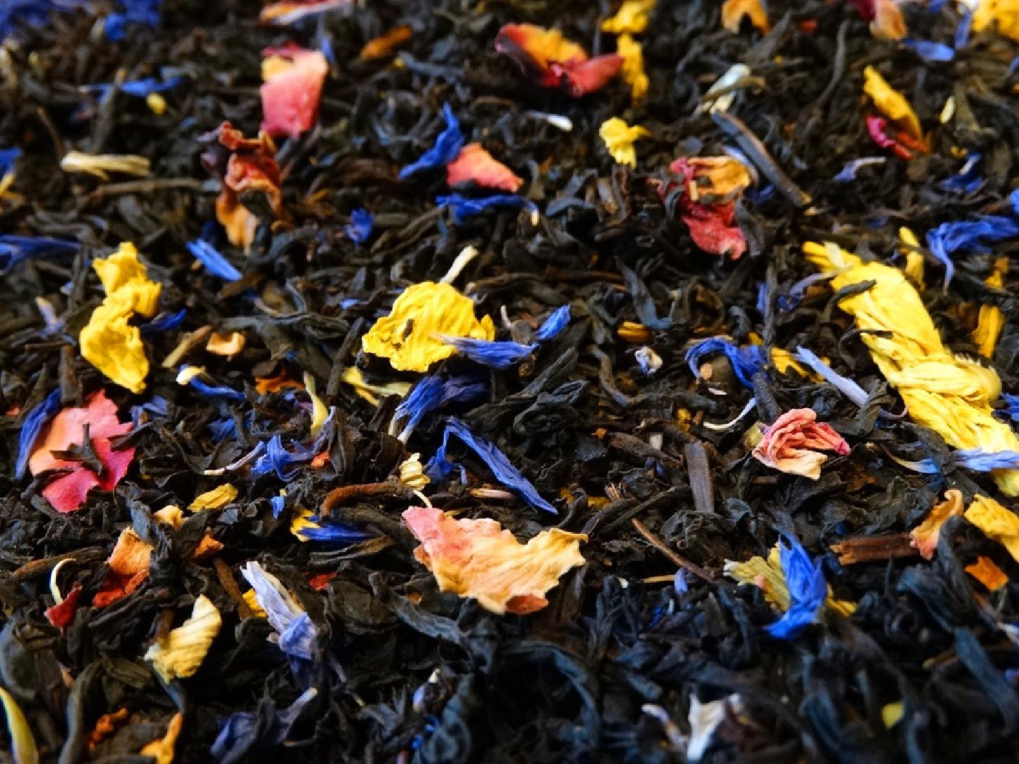 Black Tea, Passion, Mango & Petals